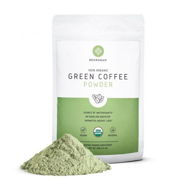 Café Verde / Green Coffee Powder para bajar de peso y sus beneficios