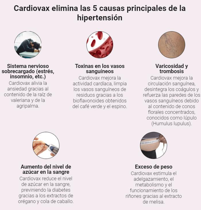 cardiovax beneficios