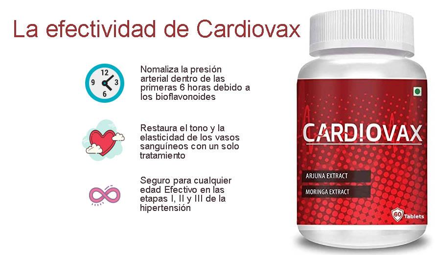 cardiovax funciona