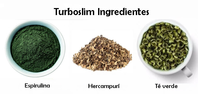 turboslim ingredientes